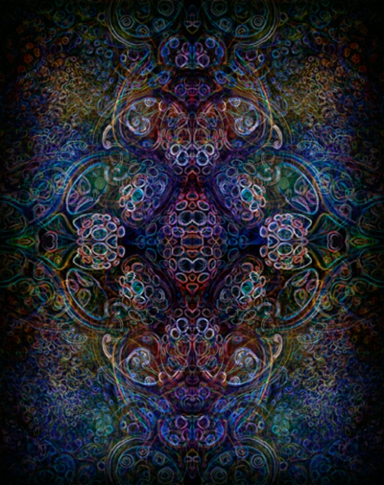 psychedelic ornament copyright @ Martin Freund