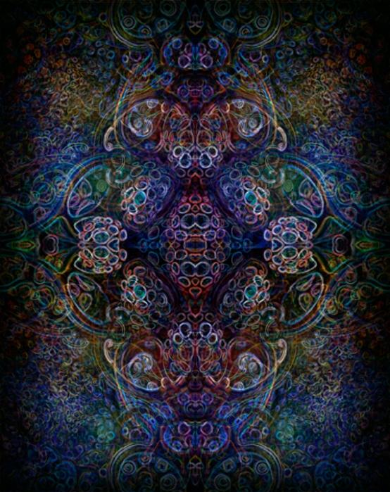 psychedelic ornament copyright @ Martin Freund